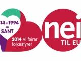 Nei til EUs jubileumsstafett kommer til Finnmark 30. august - 6. september!